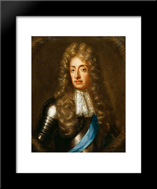 Duke Of York: Modern Black Framed Art Print by John Riley