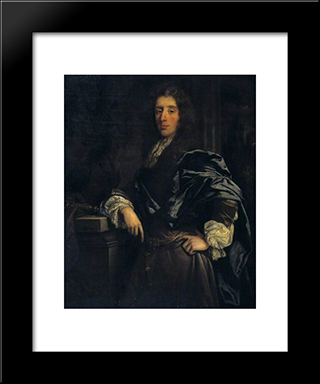 James Sotheby: Modern Black Framed Art Print by John Riley