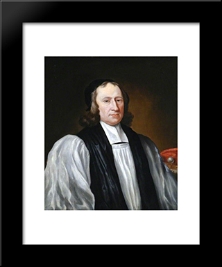 Nathaniel, Lord Crewe: Modern Black Framed Art Print by John Riley