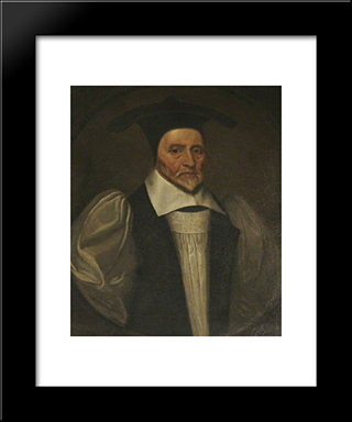 Robert Sanderson: Modern Black Framed Art Print by John Riley