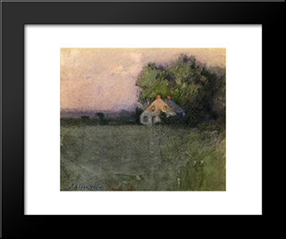 Branchville, Connecticut: Modern Black Framed Art Print by Julian Alden Weir