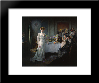 Redemption: Modern Black Framed Art Print by Julius LeBlanc Stewart