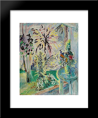 Play Of Sunlight Jamaica: Modern Black Framed Art Print by Karl Schrag
