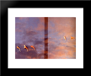 Untitled (35Mm Transparency): Modern Black Framed Art Print by Li Yuan Chia
