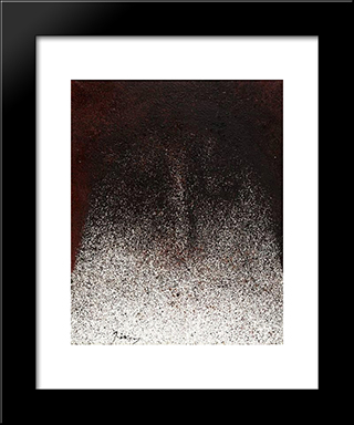 Peretextat No2: Modern Black Framed Art Print by Mario Prassinos
