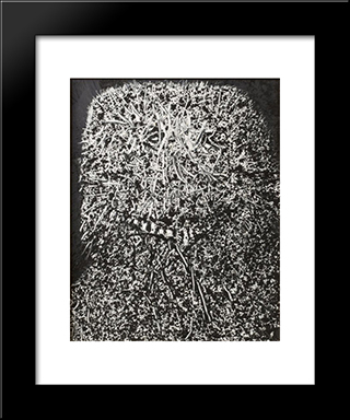 Propro: Modern Black Framed Art Print by Mario Prassinos