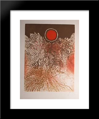 Soleil Agathe: Modern Black Framed Art Print by Mario Prassinos