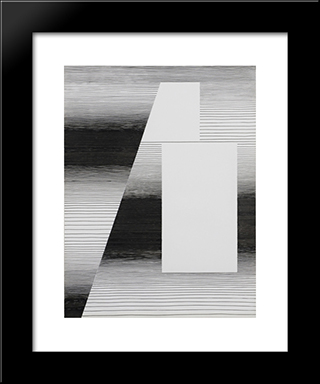 Architecture: Modern Black Framed Art Print by Michel Seuphor