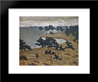 Ancient Life: Modern Black Framed Art Print by Nicholas Roerich