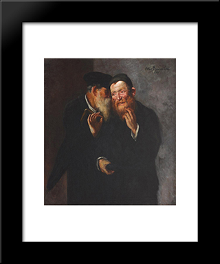 Good Deal: Modern Black Framed Art Print by Octav Bancila