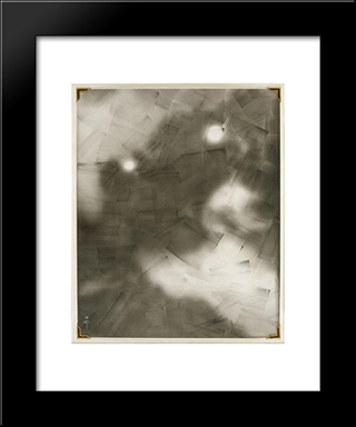 Interpretation Of Picasso, The Railway: Modern Black Framed Art Print by Pierre Dubreuil