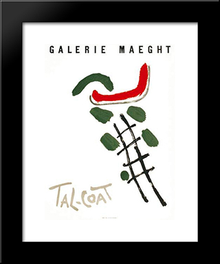 Galerie Maeght: Modern Black Framed Art Print by Pierre Tal Coat