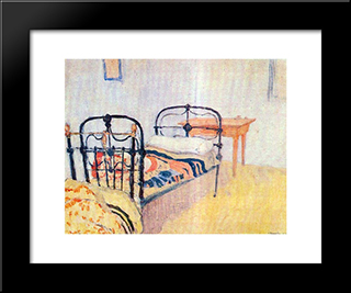 Cell At Mount Athos: Modern Black Framed Art Print by Spyros Papaloukas