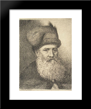Boyar: Modern Black Framed Art Print by Theodor Aman