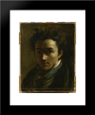 Colin Alexander, Painter: Custom Black Wood Framed Art Print by Theodore Gericault