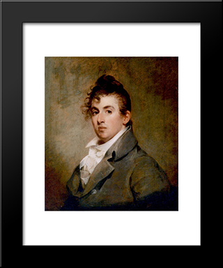 Chester Sully: Modern Black Framed Art Print by Thomas Sully