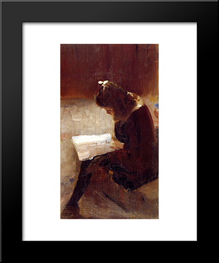 Harper'S Weekly: Modern Black Framed Art Print by Tom Roberts