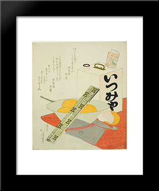 The Theater Outing: Modern Black Framed Art Print by Toyota Hokkei