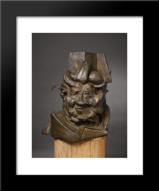 Antigraceful: Modern Black Framed Art Print by Umberto Boccioni