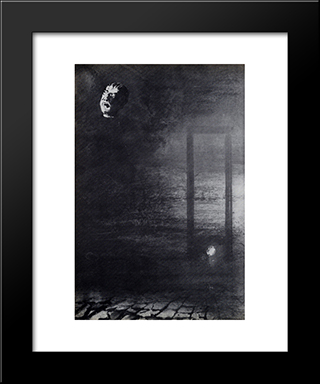 Justicia: Modern Black Framed Art Print by Victor Hugo