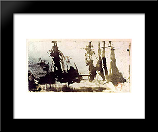 Voilures: Modern Black Framed Art Print by Victor Hugo