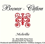 Brewer-Clifton Pinot Noir 'Melville' 2007