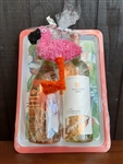 Flamingo Gift Basket