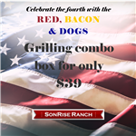 Red, Bacon & Dogs - Fourth of July Box