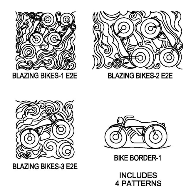 Blazing Bikes Package