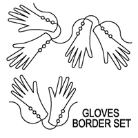 Gloves Border Set