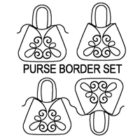 Purse Border 1 and 2 Set