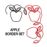 Apple Border Set