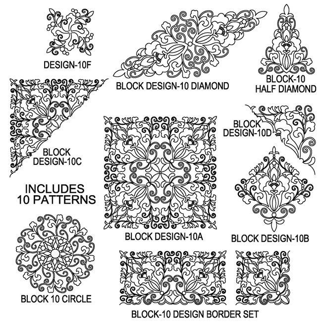 Block Design-10 Package