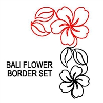 Bali Flower Border Set