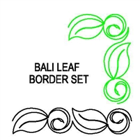 Bali Leaf Border Set