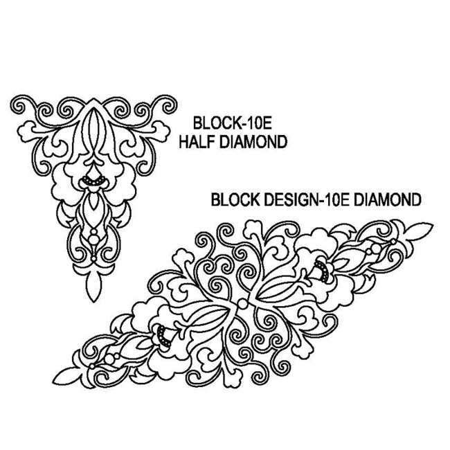 Block Design-10E Diamond Set