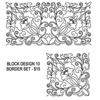 Block Design-10 Border Set