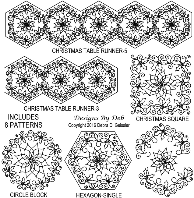 Christmas Hexagon Package