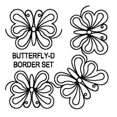 Butterfly-D Border Set