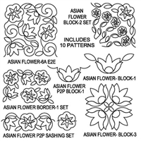 Asian Flower-6 Package