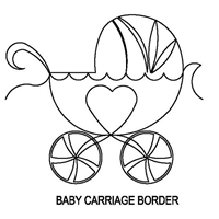 Baby Carriage Border