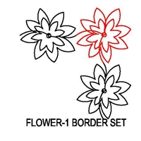 Flower-1 Border Set