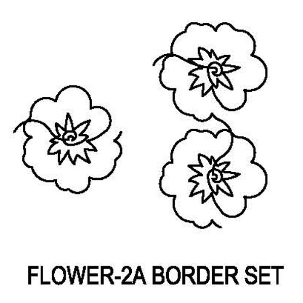 Flower-2A Border Set