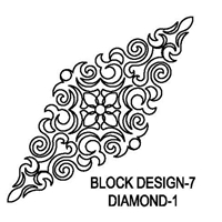Block Design-7 Diamond-1