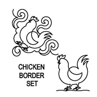 Chicken Border Set