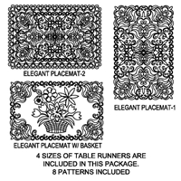 Elegant Placemat Package