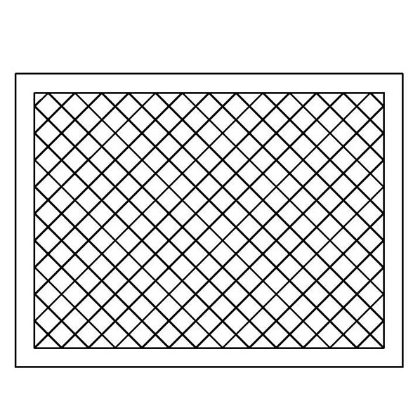Crosshatch Placemat