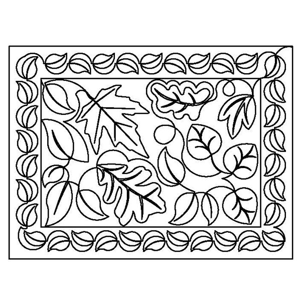 Fall Leaves Placemat