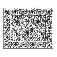 Holly Berry Swirls-2 Placemat