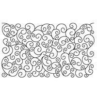 Swirls Rectangle Placemat